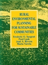 Rural Environmental Planning for Sustainable Communities (eBook)